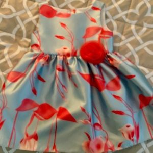 Toddler Girl Fancy print dress